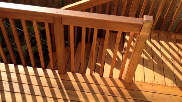Refinish of Deck and Railing